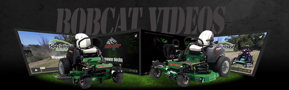 BobCat Mowers video archive