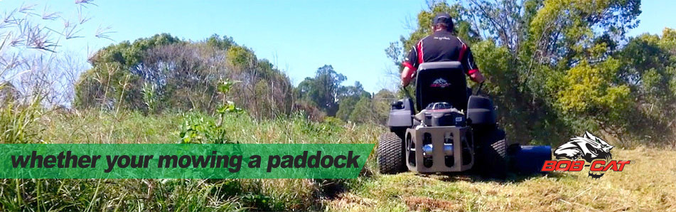 whether you are mowing your paddock