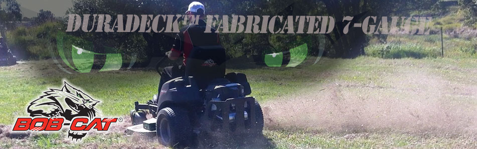 Zero Turn Mower fabricated deck